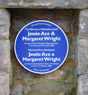 Jessie Ace and Margaret Wright, Women of Mumbles Head