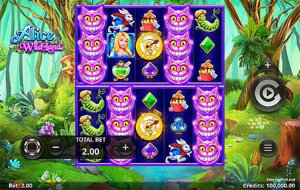Main Gratis Slot Indonesia - Alice In Wildland Microgaming