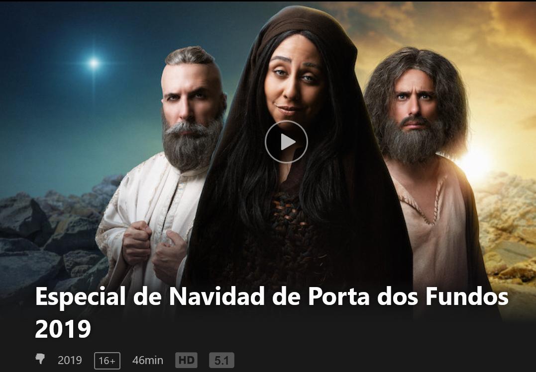 Especial de Navidad blasfemo de Netflix