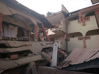 40 People Escaped Death As Popular Hotel Collapsed In Ebonyi State