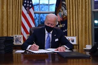 US President Joe Biden signed a decree