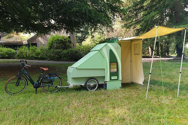 scout bike camper