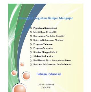 Perangkat Bahasa Indonesia K13 Kelas 8 SMP/MTs