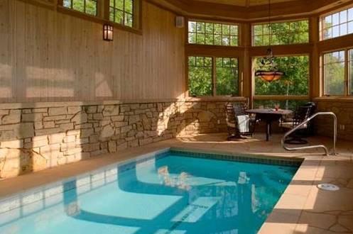 14 model terbaru desain kolam renang rumah minimalis