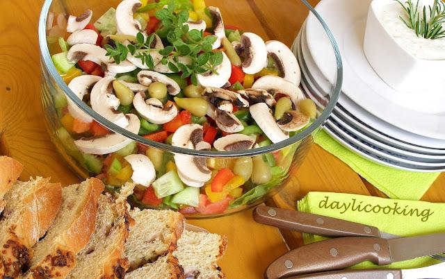 najlepsze sałatki, szybkie dania na imprezę, daylicooking, Małgorzata Kijowska