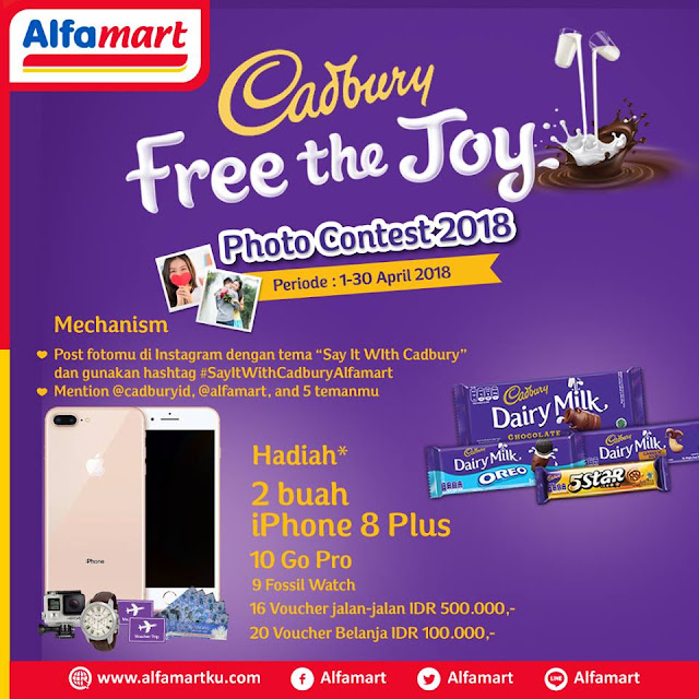 Foto Kontes Cadbury Free the Joy