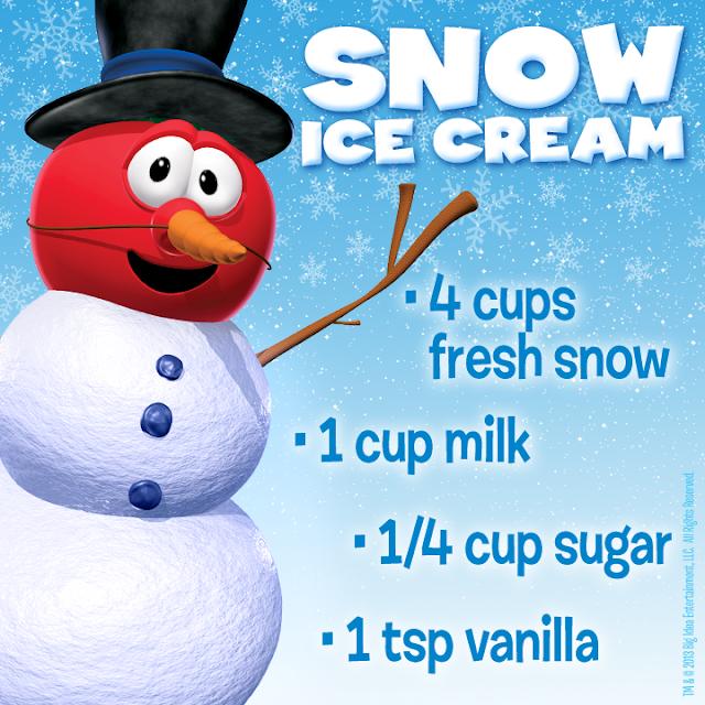 Snow Ice Cream Recipe For the Kids