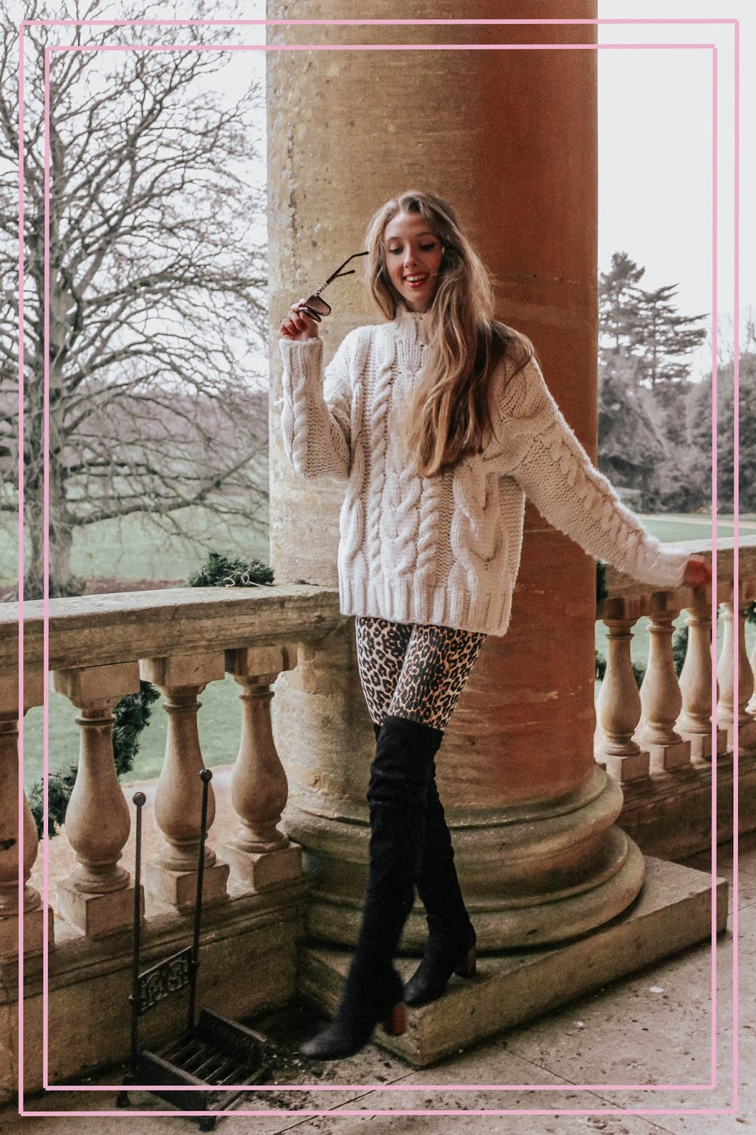 How to Style Leopard Print Trousers In Winter