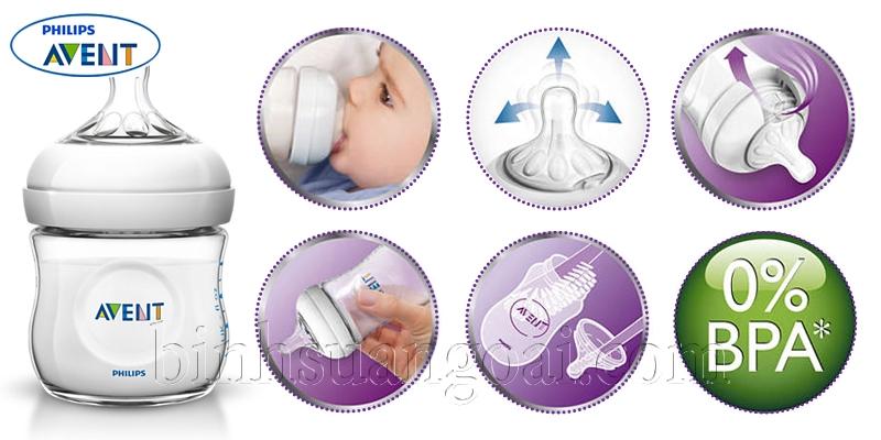 Danh sách bình sữa an toàn cho bé