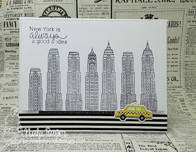 Newton's Nook Designs Newton Dreams of New York Set - Naki Rager