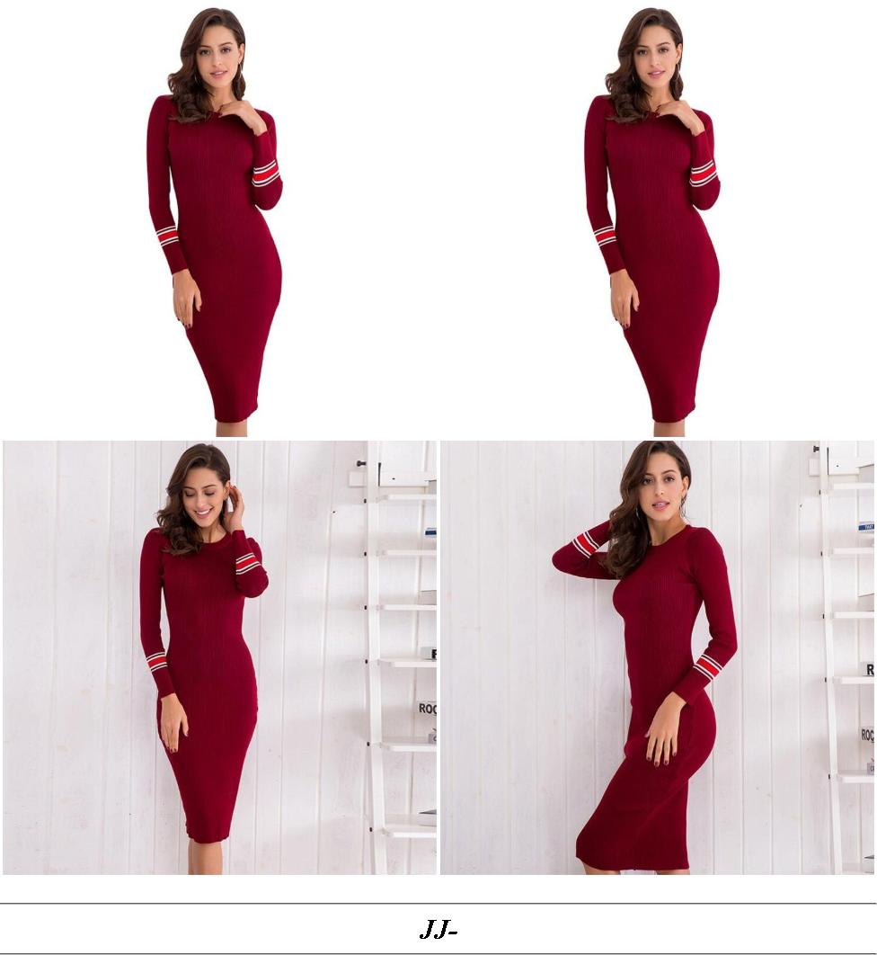 Plus Size Evening Dresses - Where To Find Cheap Vintage Clothing - Short Maroon Dress Prom