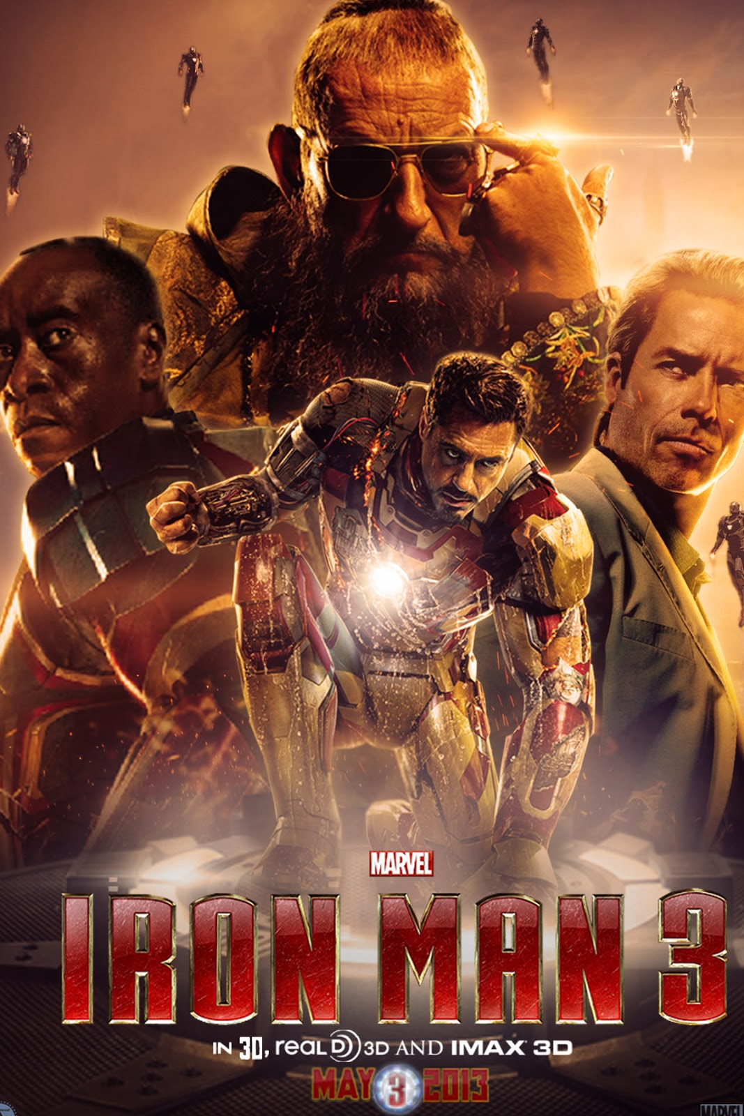 Iron Man 3 2013 HD wallpapers 1080p