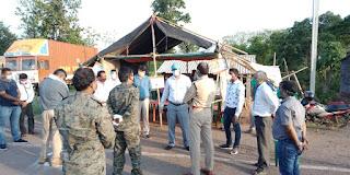 dc-ssp-jamshedpur-visit-check-post