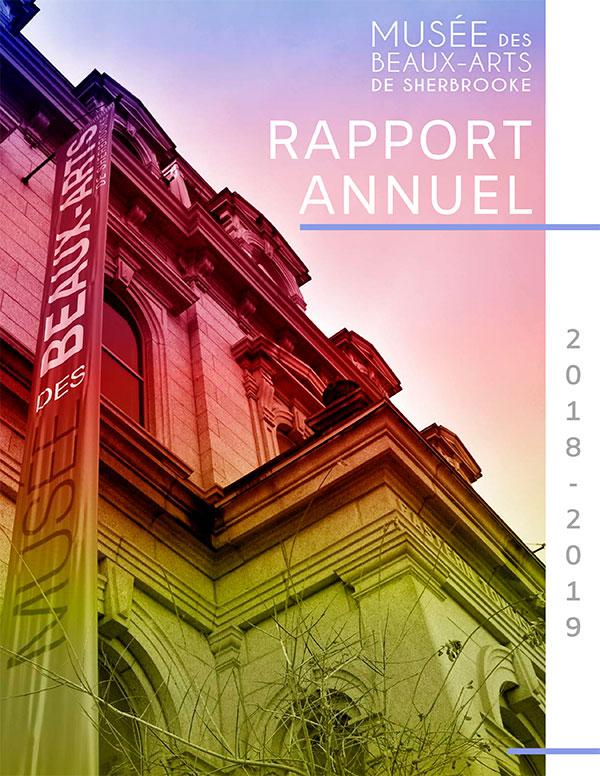 Rapport annuel du Musée des beaux-arts de Sherbrooke