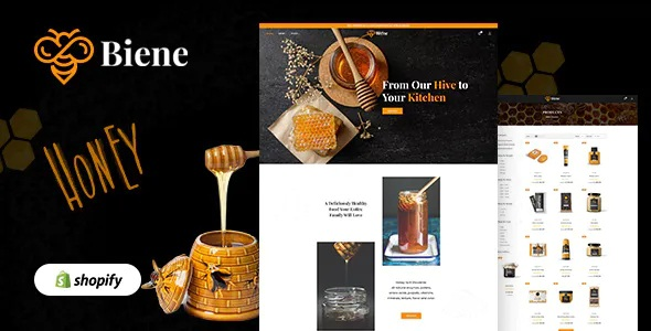 Best Organic Honey Products Shopify Theme