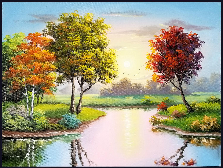 học vẽ tranh phong cảnh online