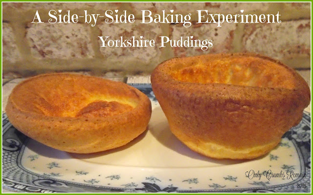 Resting a Yorkshire Pudding Batter