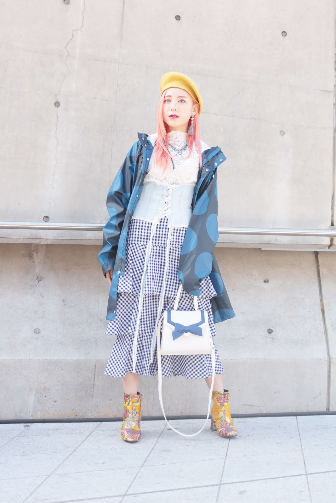 seoul fashion week streetstyle maximalist fashion