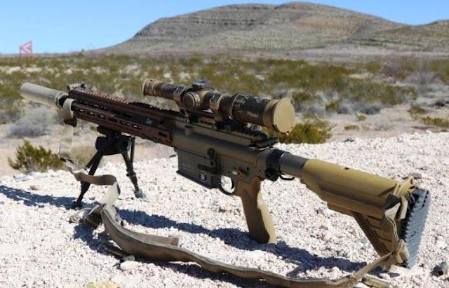 Senapan M110A1 SDMR
