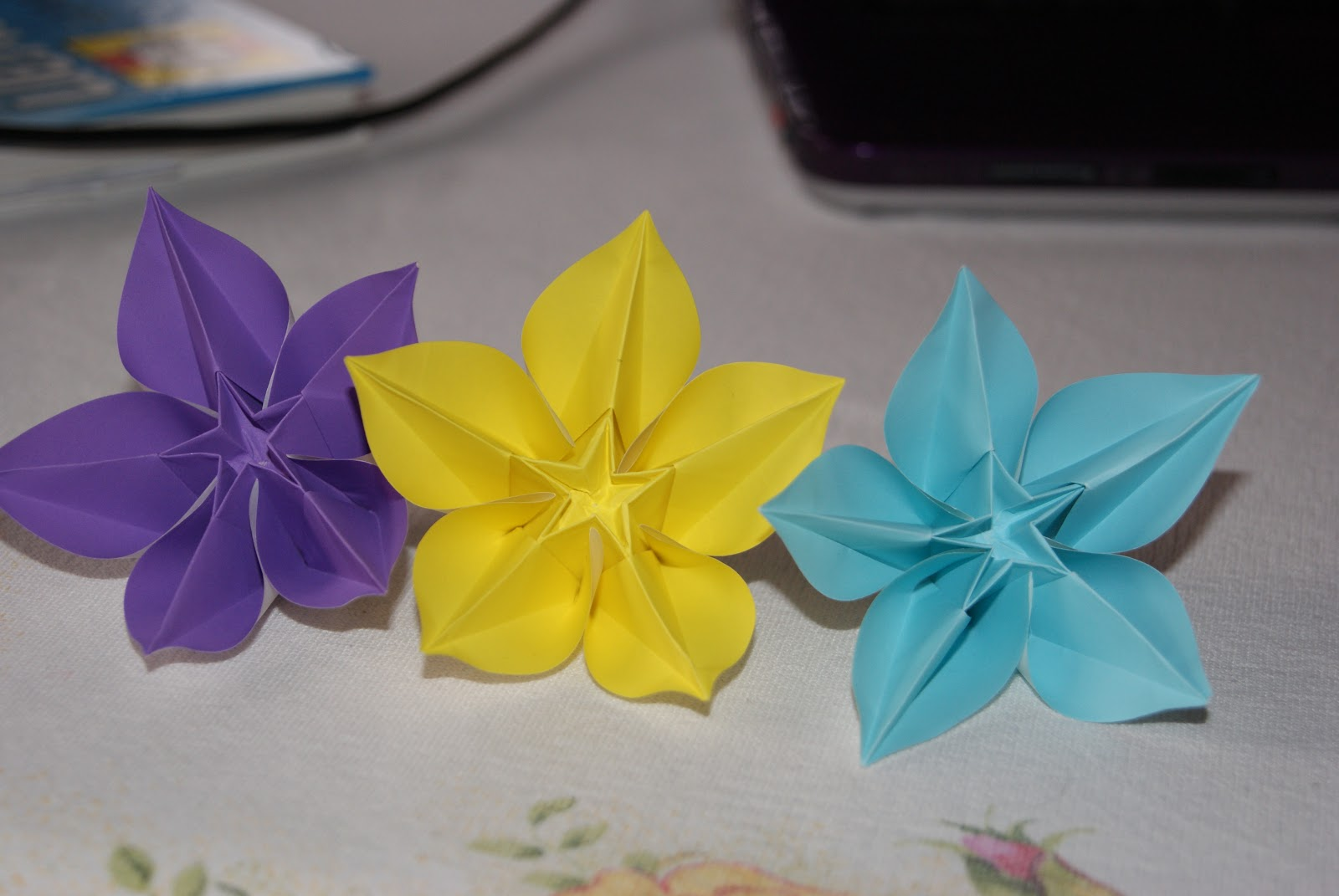 carambola flower origami diagram cat5e wiring being inspired flowers