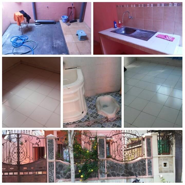 Rumah kontrakan Merjosari Malang