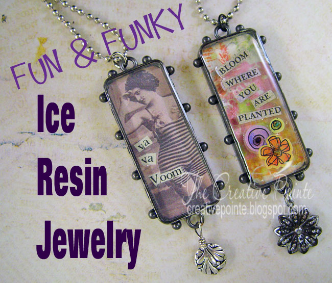 The Creative Pointe Fun Amp Funky Ice Resin Jewelry