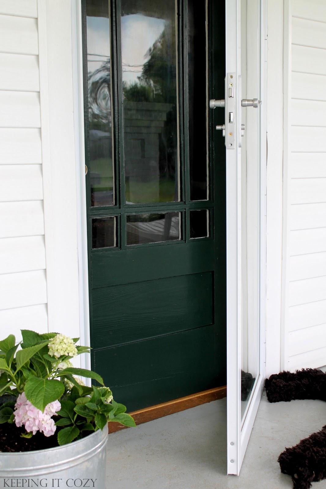 Keeping It Cozy Porch Update The Front Door