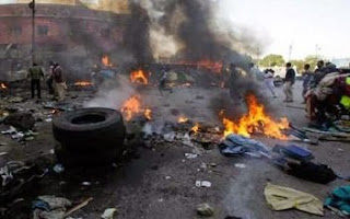 BLOODY Sunday As 'Defeated Boko Haram Bombs Maiduguri