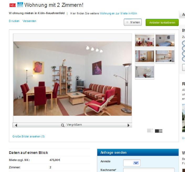 Wohnung Konz