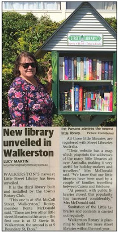 Walkerston Rotary's Little Street Library # 3