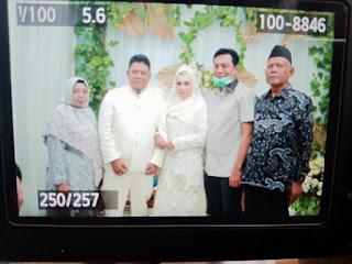M.Fadhil Arief Hadiri Pernikahan Wahyu Dan Vivin.