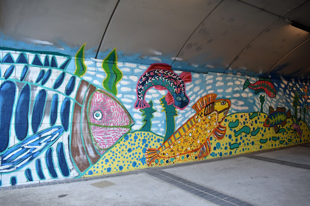 Kingsgrove Street Art | Canal to Creek Mural by Emily Crockford