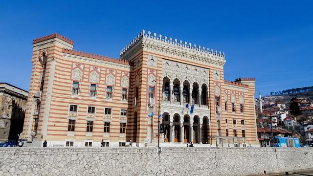 Sarajevo City Hall in 2020
