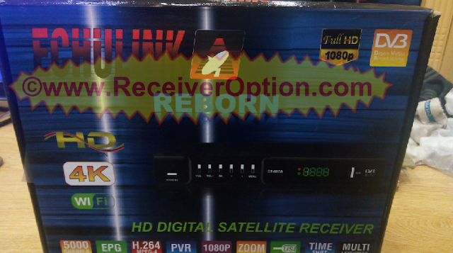 ECHULINK REBORN HD RECEIVER CCCAM & BISS KEY OPTION NEW SOFTWARE