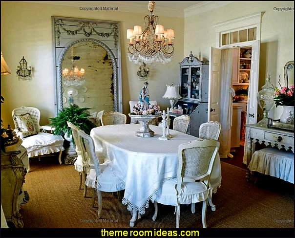 French-inspired interiors country french dining french country kitchens paris chic style