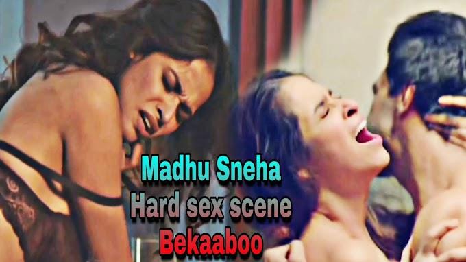 Madhu Sneha sexy scene - Bekaaboo s01 (2019) HD 720p