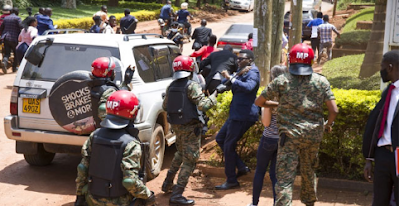 Ugandan soldiers jailed for assaulting journalists