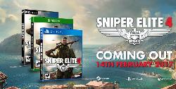 когда выйдет игра Sniper Elite 4