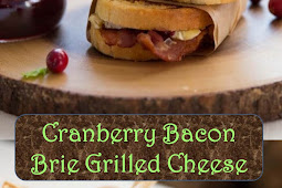 #Yummy #Cranberry #Bacon #Brie #Grilled #Cheese