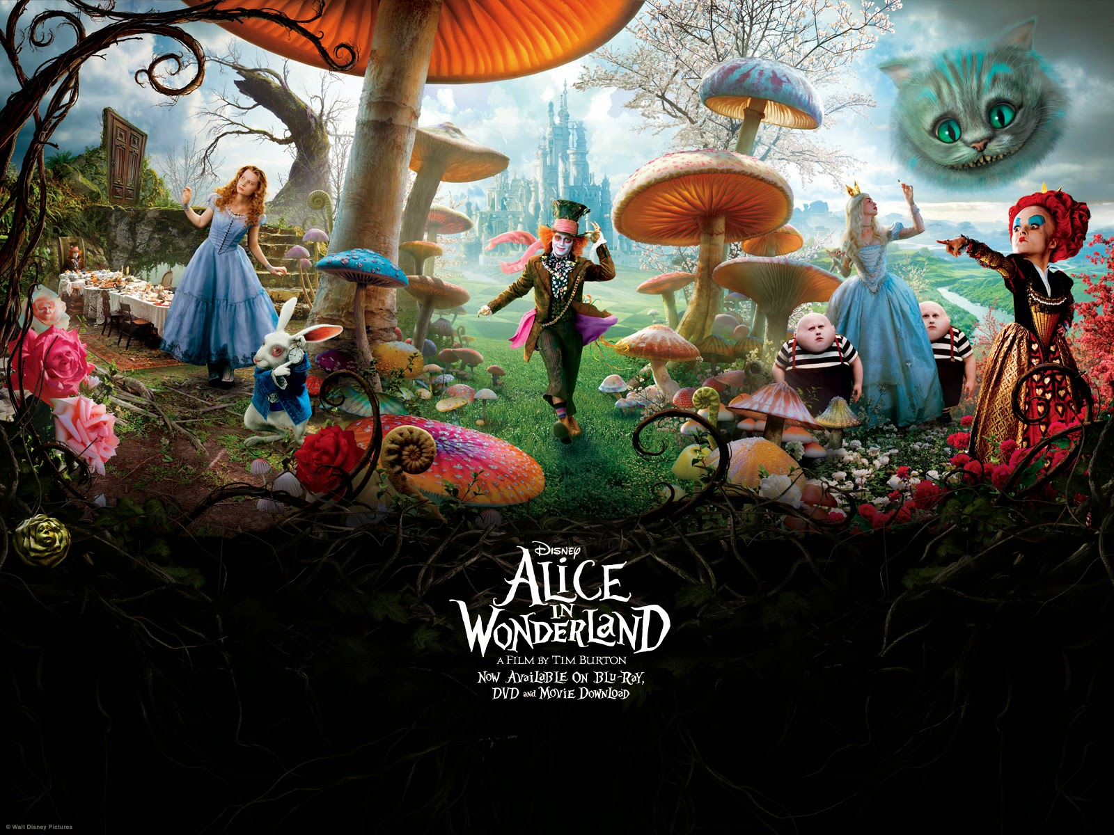 Free Desktop Wallpaper: Alice In Wonderland Wallpaper (Page 3)