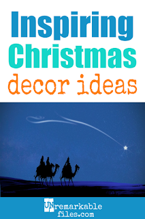 This is a great list of easy and inexpensive DIY Christmas decoration ideas that celebrate the true meaning of Christmas! Tour a real Christian family's household to see what inspiring religious holiday décor reminds them of Jesus Christ. #christmas #decoration #christian #religious #ideas #inspiration