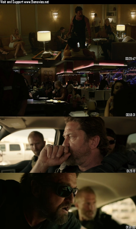 Den Of Thieves 2018 UNRATED Dual Audio Hindi 720p BluRay 1.2GB