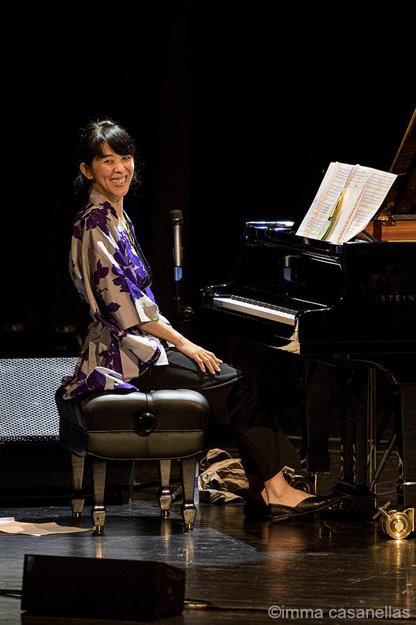 Eri Yamamoto presentant Goshu Ondo junt amb el Coro Easo, Victoria Eugenia, 25/7/2019