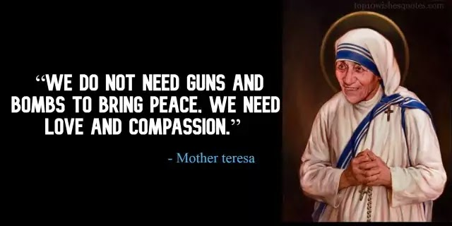 quotes of Mother Teresa on love