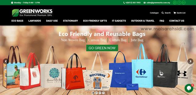 Greenworks Sediakan Cenderamata Unik Mesra Alam