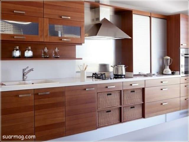 صور مطابخ - مطابخ خشب 10   Kitchen photos - Wood kitchens 10