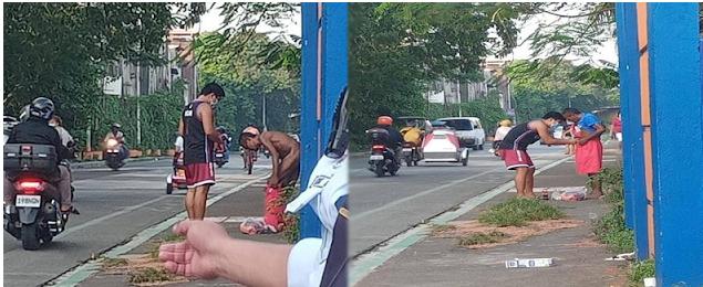 Palaboy binilhan ng damit at binihisan ng walang pagaalinlangan