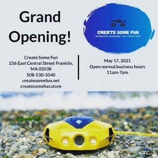 New hobby shop scheduled to open May 17 - Create Some Fun