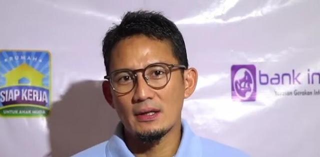 Sandiaga Uno Jadi Menparekraf, Aktivis: Dia Telah Meninggalkan Partai Emak-emak