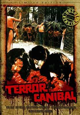 Terror Caníbal' de Julio Pérez Tabernero editada en nuetsro país en DVD